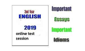 Gujranwala Board Past Papers of 2017 English Inter Part 2